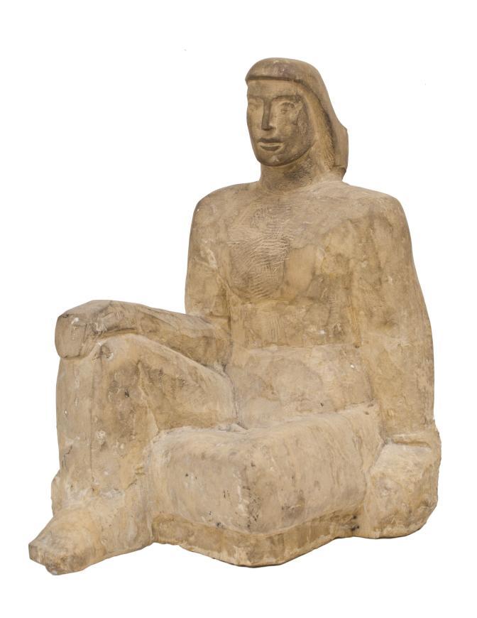 Albert Wein, Seated Woman