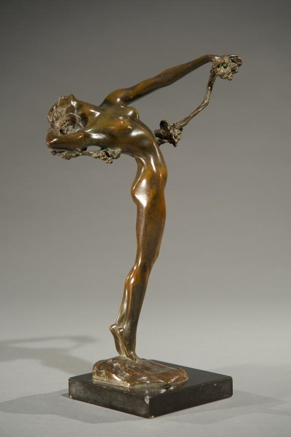 Latest Collection Of Big Old Bronze Sculpture Nude By Harriet Whitney Frishmuth. Metalware