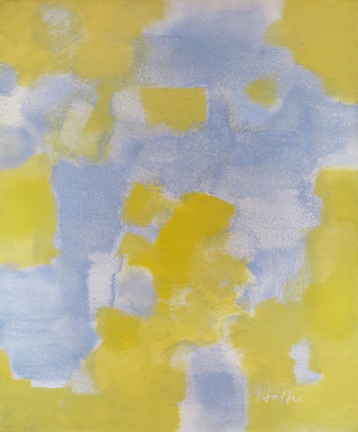 Untitled (Light Gray, Yellow)