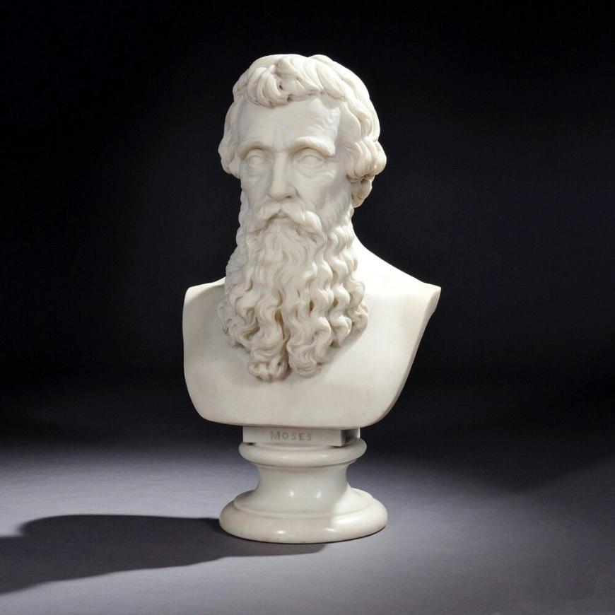 Horatio Stone, Moses, 1867
