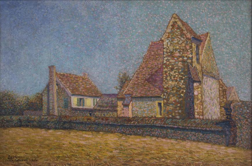 Léo Gausson, Ferme, 1909