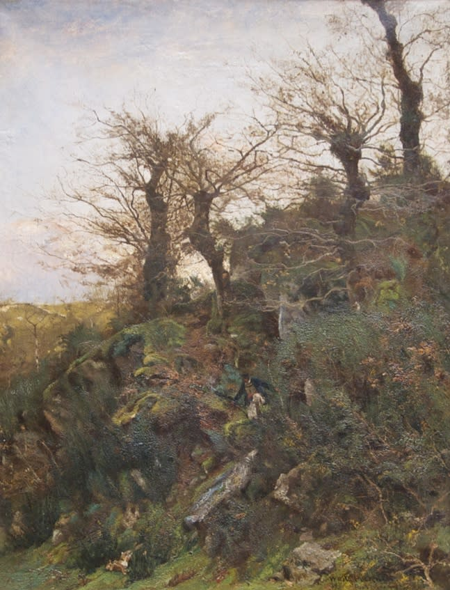 Hunting, Pont-Aven