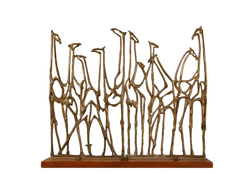 Robert Cook, Giraffe Gates, 1987