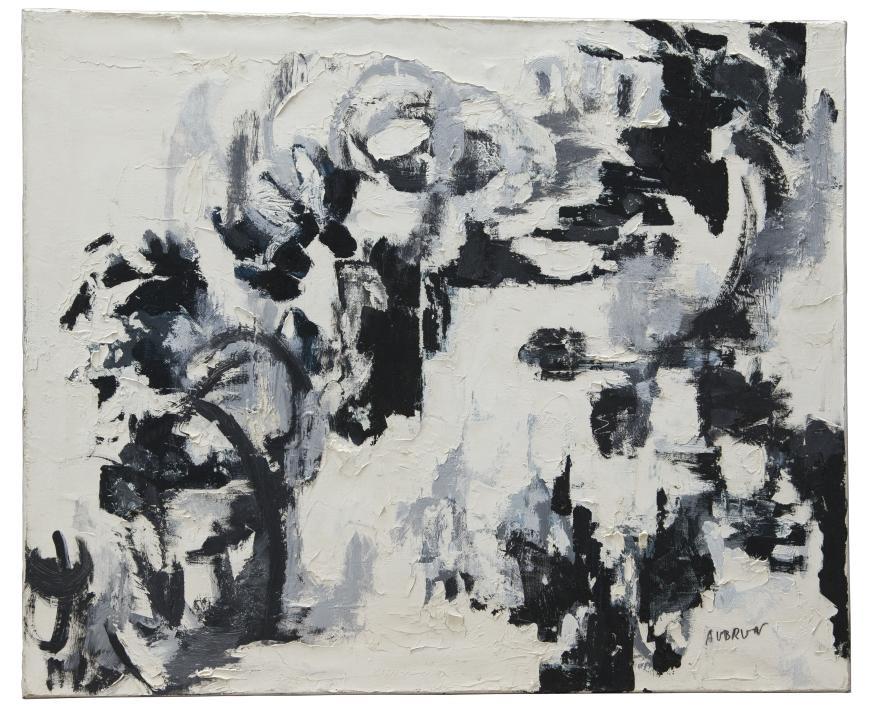François Aubrun, Untitled #266, 1963