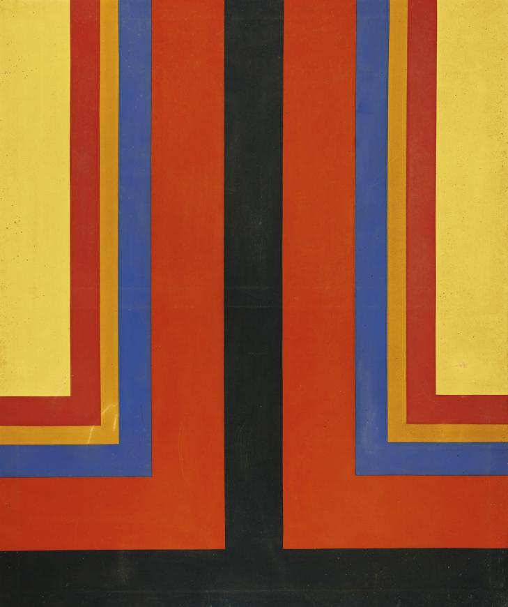 Howard Mehring, Brilliant Corners, 1965