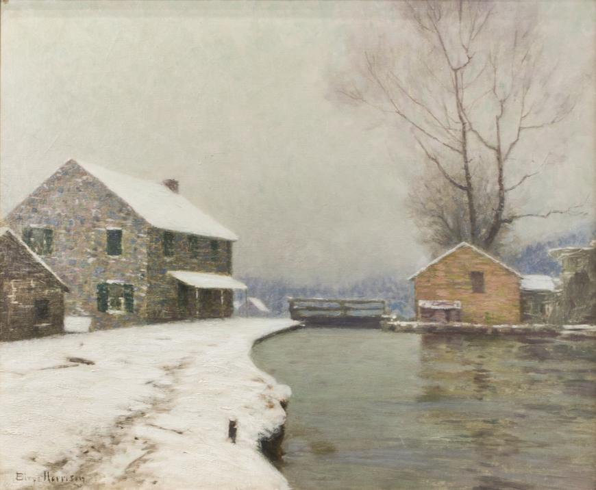 The Lock in Winter