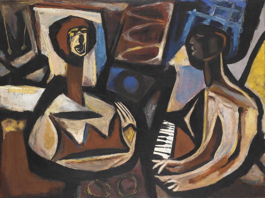 Victor Seach, Jazz Singer, 1948
