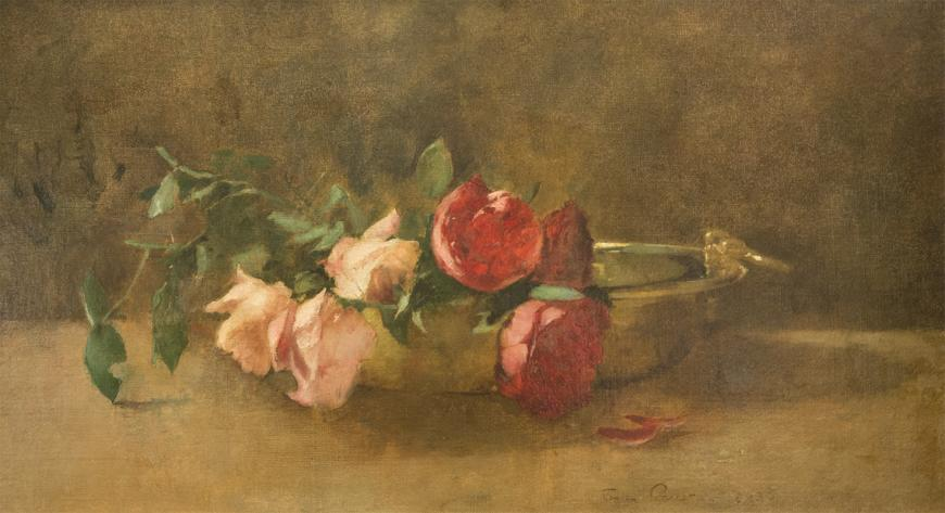 Roses in a Dish