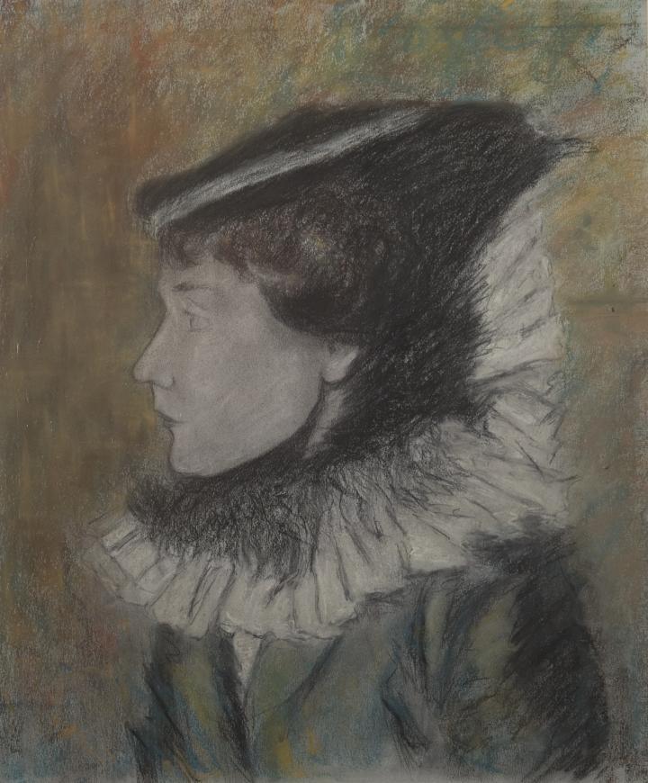 Femme à la Collerette