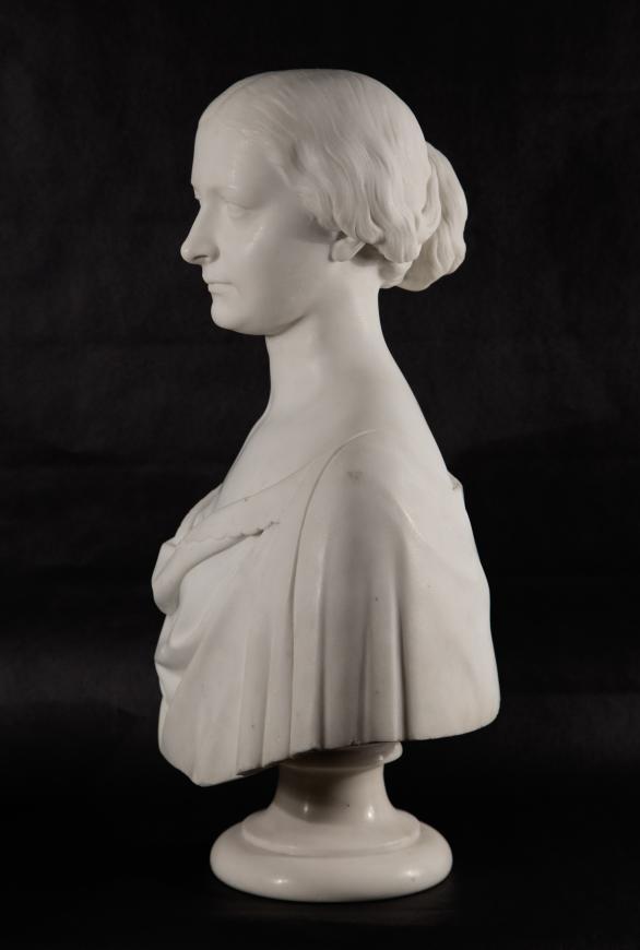 Bust of Elizabeth Street Plumb