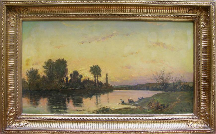Lavandières, Bord de Rivière