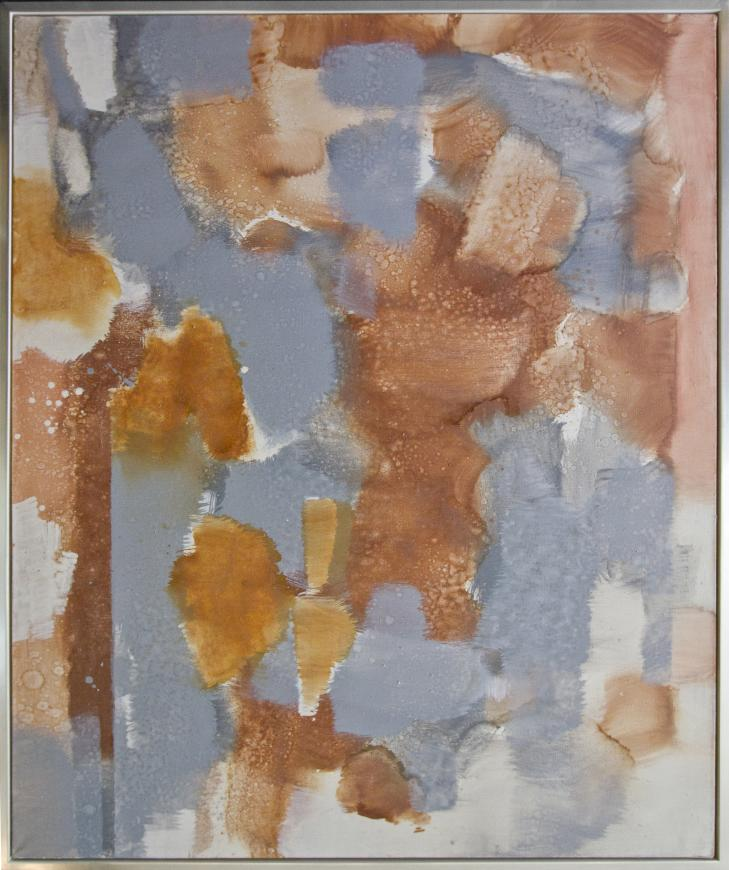 Untitled (Orange, Gray)