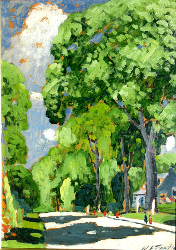 "<span class=""artist""><strong>Marc-Aurèle Fortin, A.R.C.A.</strong></span>, <span class=""title""><em>Les grands ormes, Ste-Rose</em></span>"