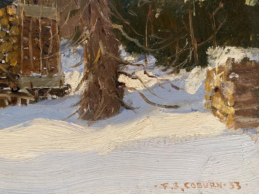 Logging in Winter
