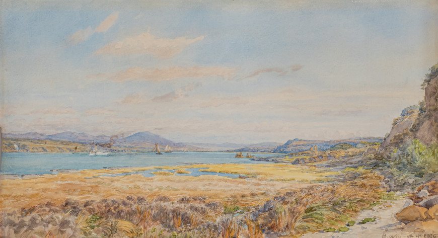 Charles Jones Way, Looking Down the St. Lawrence River from Levis, 1899 (circa)