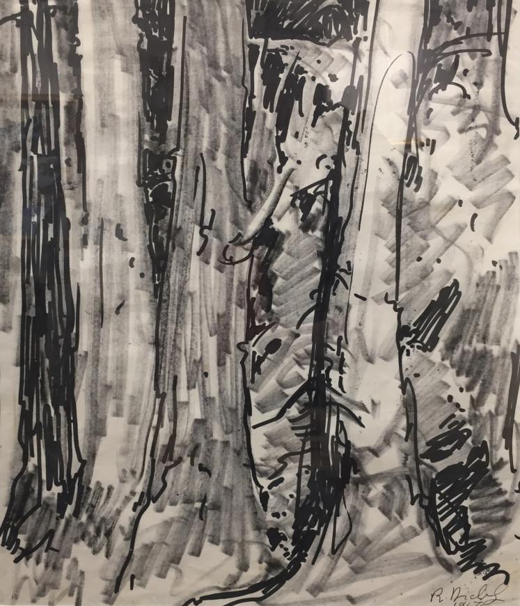 "<span class=""artist""><strong>René Richard</strong></span>, <span class=""title""><em>Gros arbres</em>, 1967</span>"