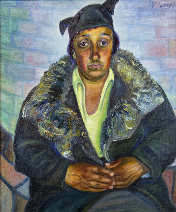 Woman in a Coat (Italian Woman)