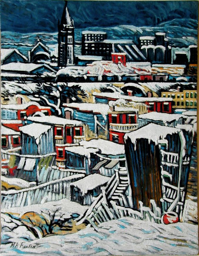 "<span class=""artist""><strong>Marc-Aurèle Fortin, A.R.C.A.</strong></span>, <span class=""title""><em>Vue sur Hochelaga</em></span>"