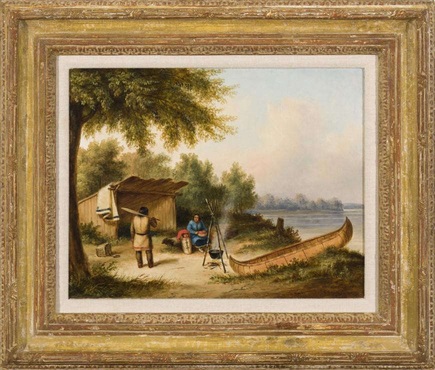 Indian Camp, Caughnawaga Family