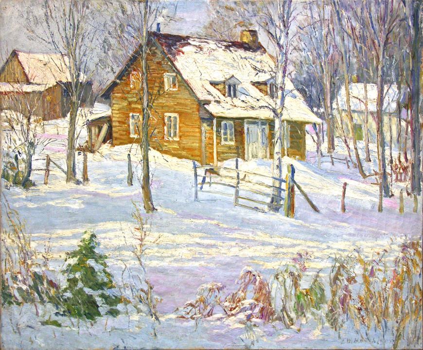Winter Scene, Hudson Heights, Quebec