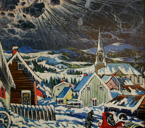 Landscape near Baie St. Paul - Paysage près de Baie St-Paul