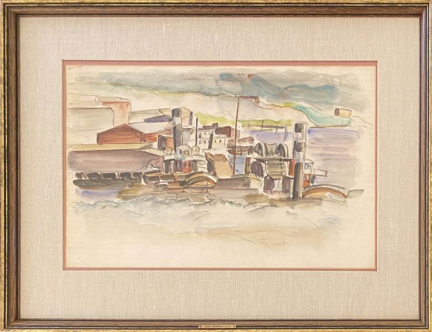 Boats and Dredges, Saint John, N.B.