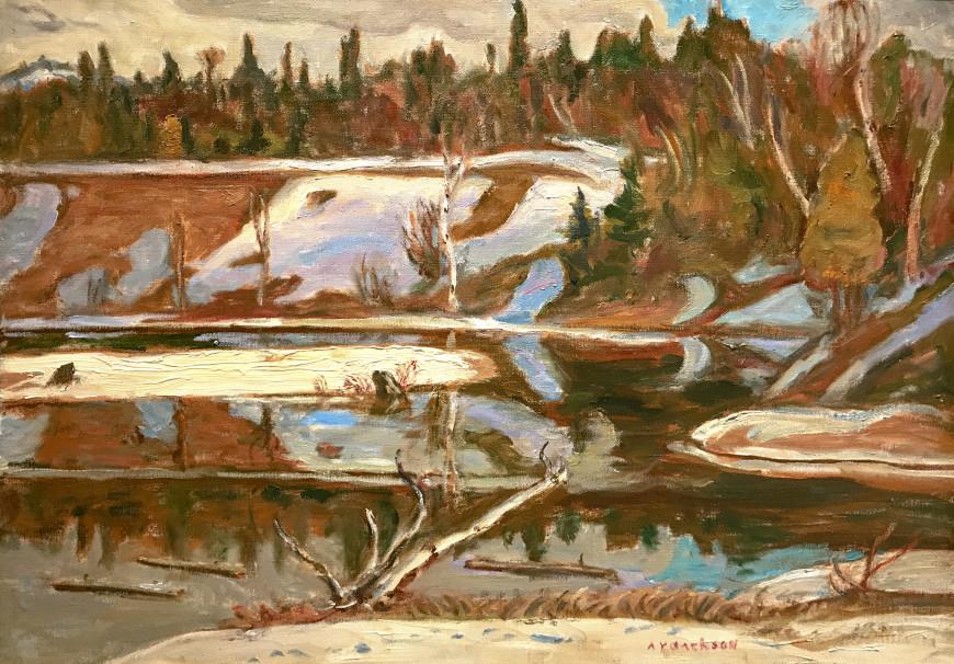 Petite Rivière des Nations near Duhamel, Québec