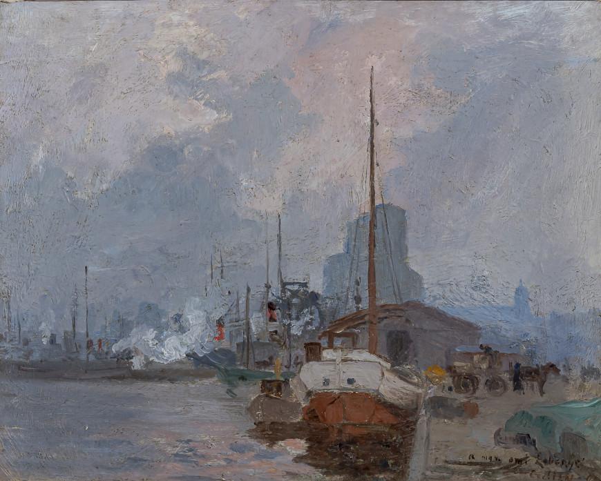 Twilight, Montreal Harbour