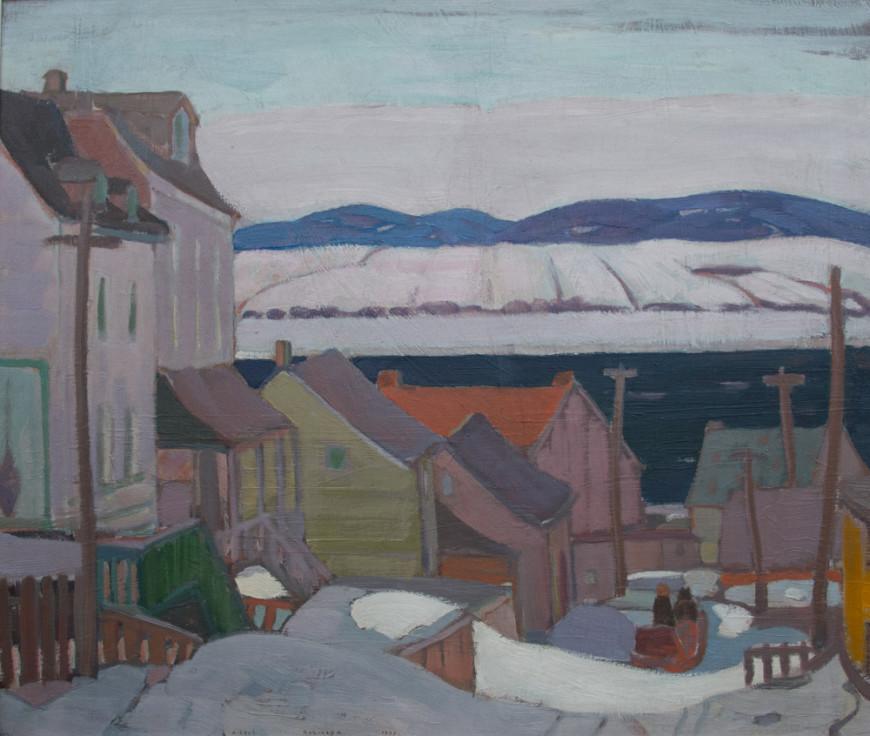 """<span class=""""artist""""><strong>Albert H. Robinson</strong></span>, <span class=""""title""""><em>Bienville, Québec</em>, 1922</span>"""