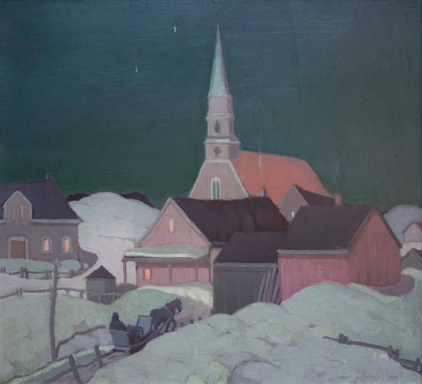 "<span class=""artist""><strong>Albert H. Robinson</strong></span>, <span class=""title""><em>Moonlight, St. Fidèle - Clair de lune, Saint-Fidèle</em>, 1925</span>"