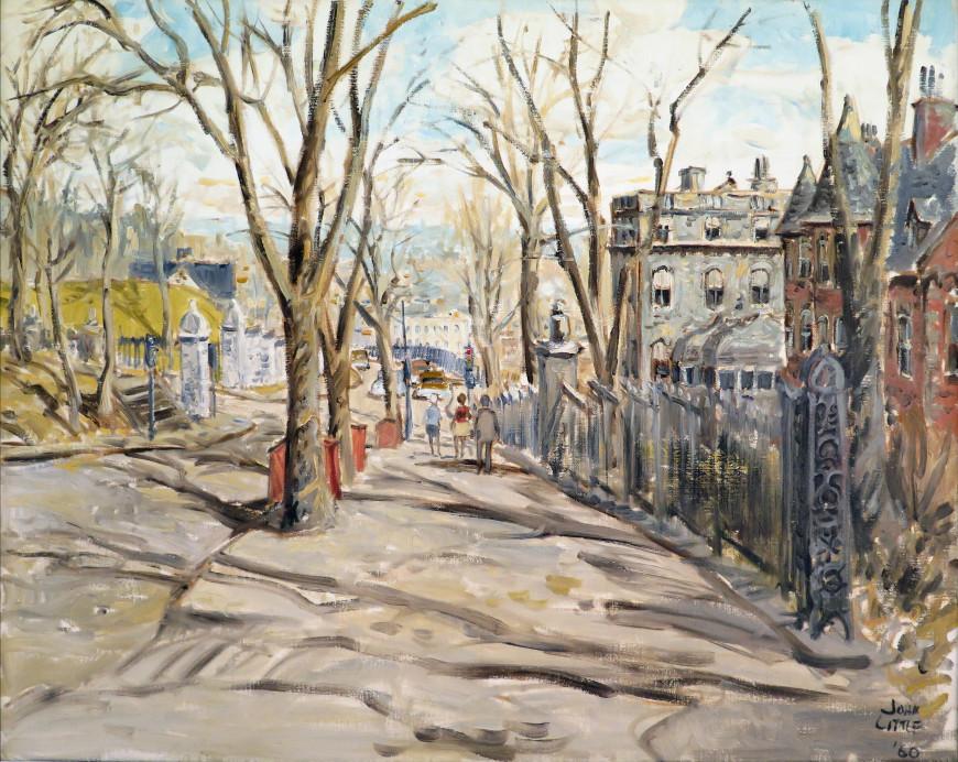 Pine Avenue Looking East to Peel Street