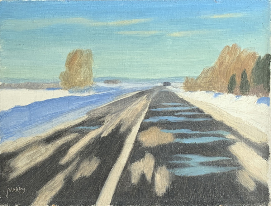 Road to St-Rémi