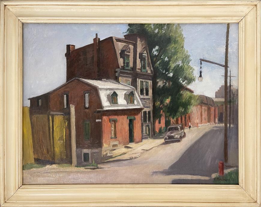 Saint-Norbert Street at de Bullion Looking West