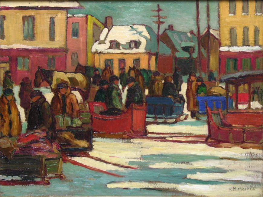 Marché à Saint-Roch, Québec