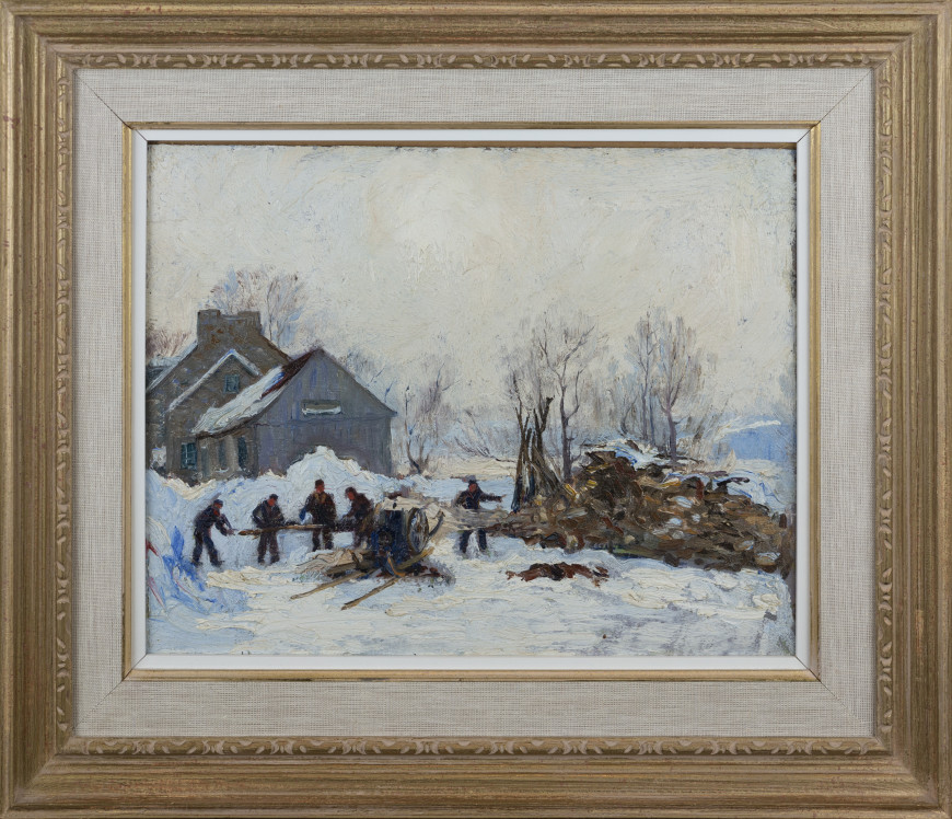 Woodcutters, Winter