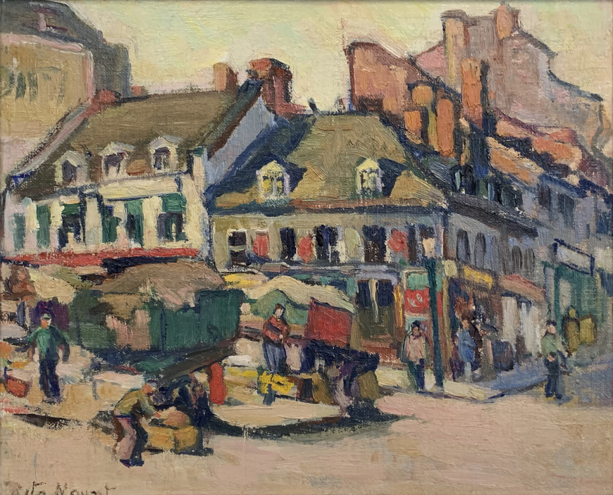 "<span class=""artist""><strong>Rita Mount</strong></span>, <span class=""title""><em>Bonsecours Market</em></span>"