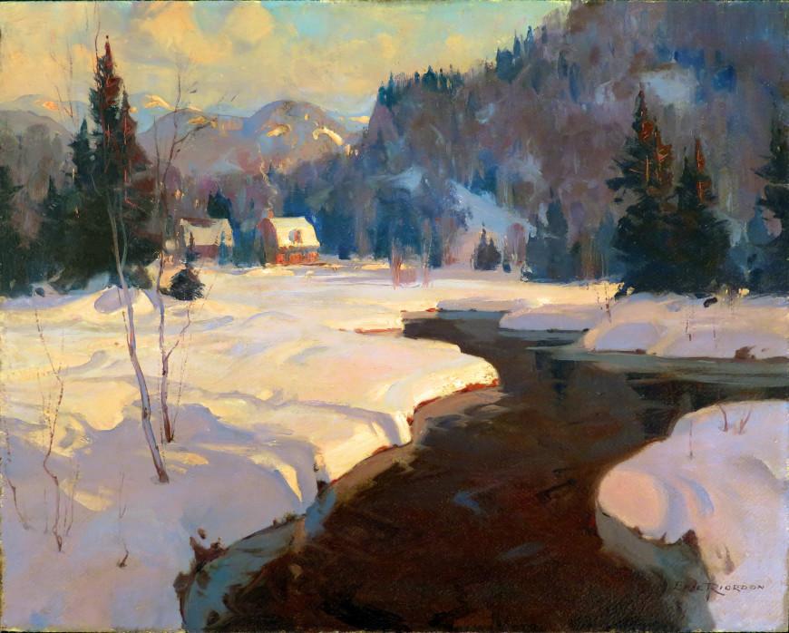 Evening, Simon River