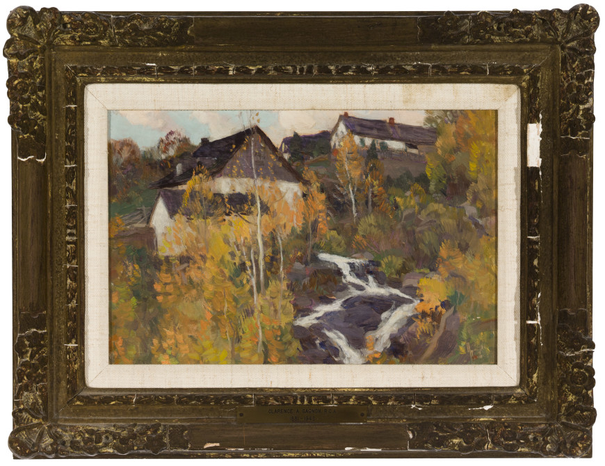 The Old Mill or Automne dans Charlevoix