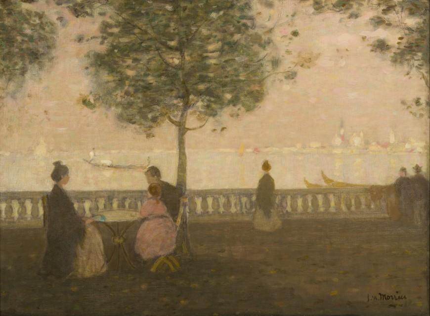 "<span class=""artist""><strong>James Wilson Morrice</strong></span>, <span class=""title""><em>Public Gardens, Venice</em>, 1903 (circa)</span>"