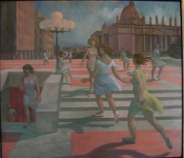 "<span class=""artist""><strong>Philip Surrey, C.M., LL.D., R.C.A.</strong></span>, <span class=""title""><em>Place Ville-Marie III</em>, 1965 (circa)</span>"