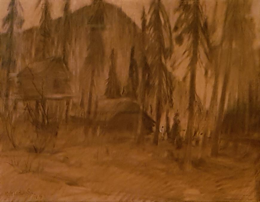 "<span class=""artist""><strong>René Richard</strong></span>, <span class=""title""><em>Untitled (Dessin 2)</em>, 1943</span>"