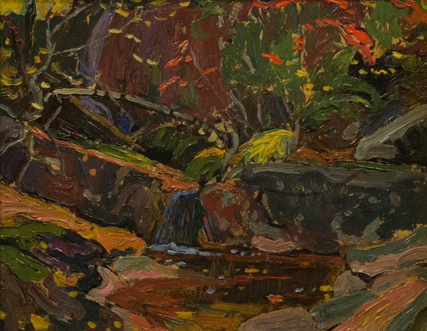 Brook in Autumn (1), Algoma - Ruisseau en automne (I), Algoma