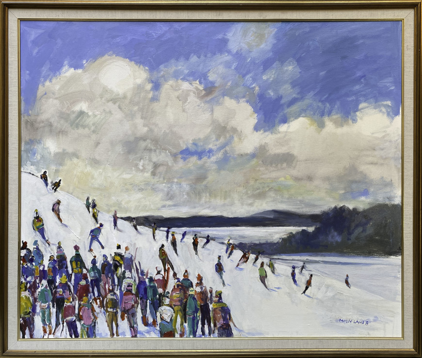 Skiers, Crabbe Mountain #1