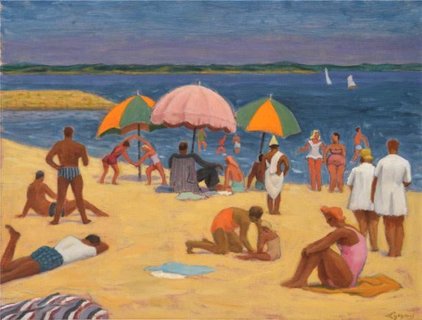 The Beach, St-Jean-de-Luz - La plage, St-Jean-de-Luz