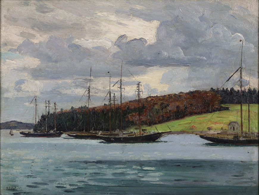 Autumn Near Lunenburg