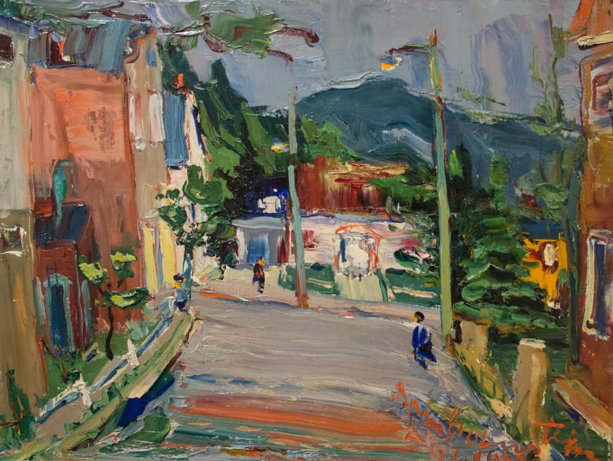 Street in Lachine - Une rue à Lachine
