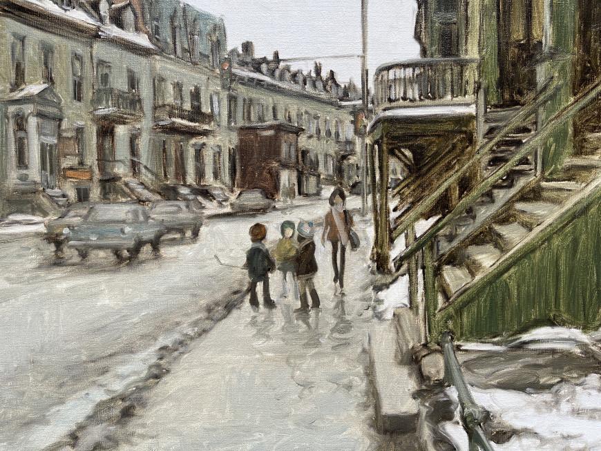 St. Antoine Street at Fulford, St. Henri, Montreal