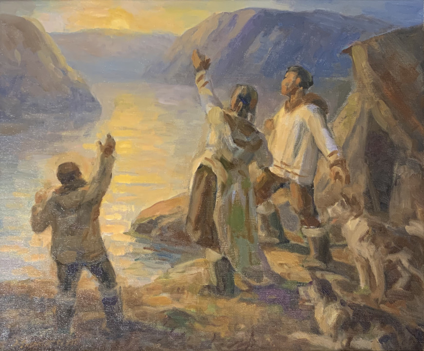 Study for %22The Sun worshippers%22