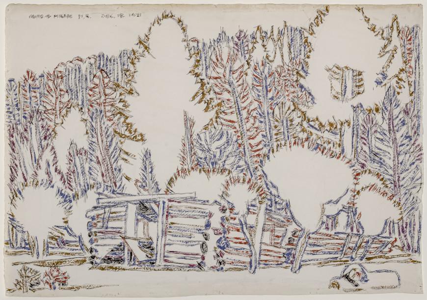Ruin in the Wood (Mount Riga, N.Y.)