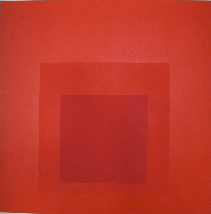 "<h3><span class=""artist"">JOSEF ALBERS</span></h3><p><span class=""title""><em>Homage to the Square: Distant Alarm, </em></span><span class=""title"">1966</span></p>"